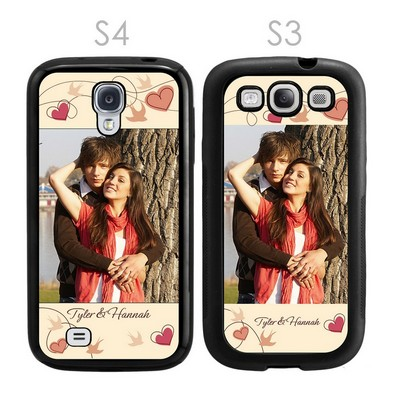 Personalized Romantic Photo Galaxy S3-S4 Case