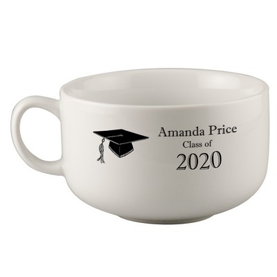 Personalized Soup Mug for Graduates