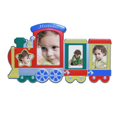 Personalized Train Picture Frame