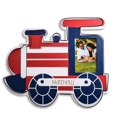 Personalized Train Wall Art with 4x6 Frame