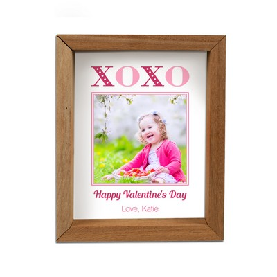 Personalized Valentine's Day Framed Shadow box