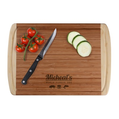 Personalized World Famous BBQ Cutting Board for Him