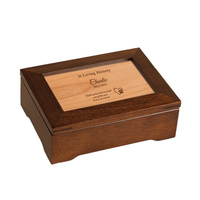 Pet Memorial Personalized Musical Keepsake Box