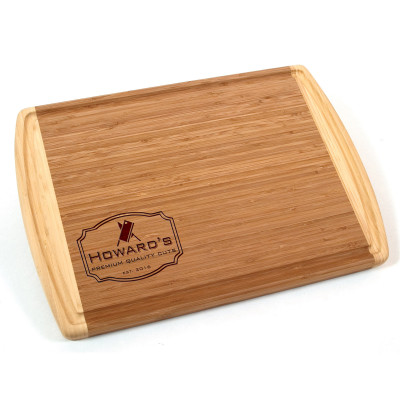 Premium Cuts Engraved Bamboo Cutting Board