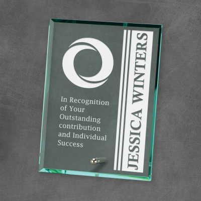 Quality Jade Glass Achievement Award