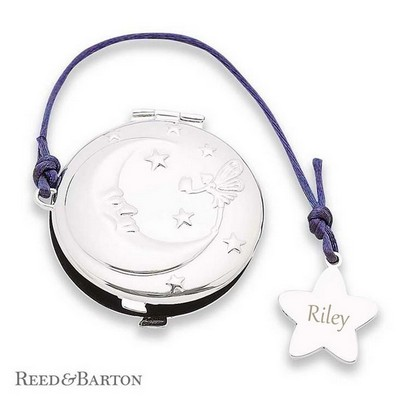 Reed & Barton Personalized Silver Twinkle Tooth Fairy Box
