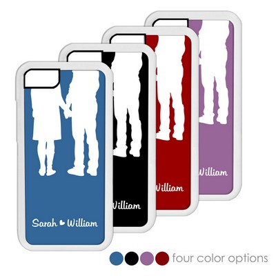 Romantic Silhouette Personalized iPhone Case