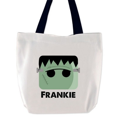 Personalized Frankensteins Monster Tote Bag