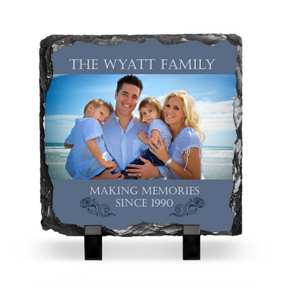 Making Memories Photo Slate Plaque