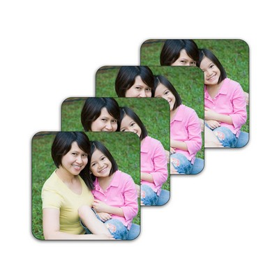 Design Your Own Photo Coaster Set of 4