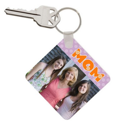 Mom Photo Keychain