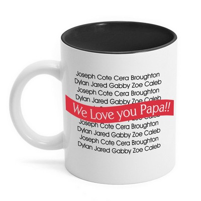 Loved Ones Personalized Family Mug