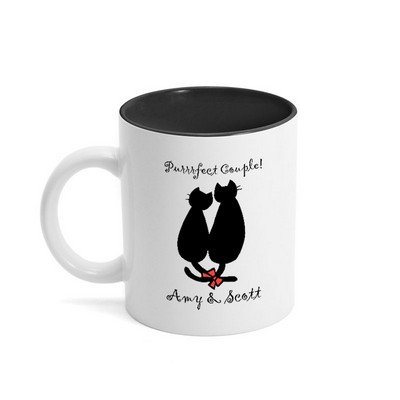 Purrrfect Couple Coffee Mug