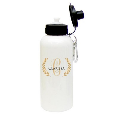 Personalized Initialed Water Bottle