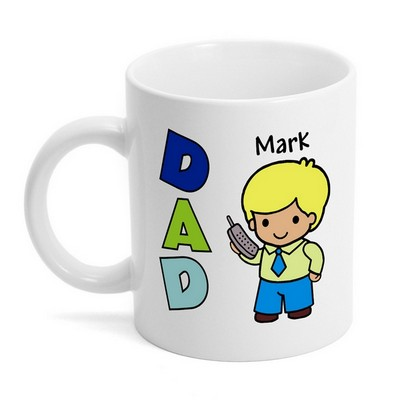 Custom Character Personalized Dad Mug