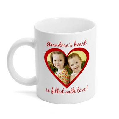 Heart Filled with Love Photo Mug