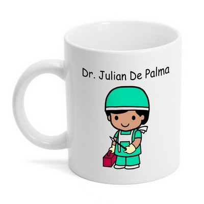 Custom Character Surgeon Coffee Mug
