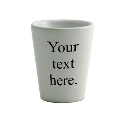 Personalized Happy Birthday Mug 2395 Create Your Own White Ceramic Shot Glass