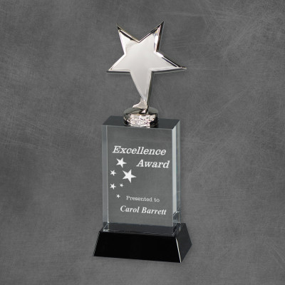 Shining Star Excellence Silver and Crystal Award