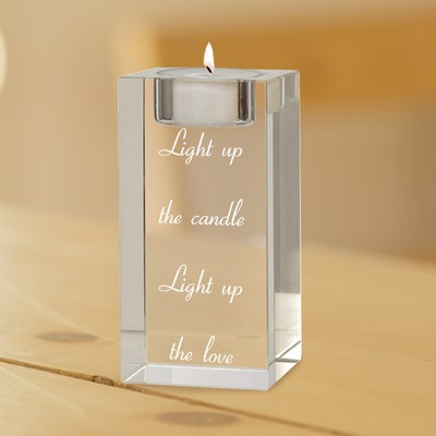Single Reflective Tealight Candle Holder