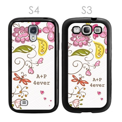 Spring Romance Personalized Galaxy S3-S4 Case