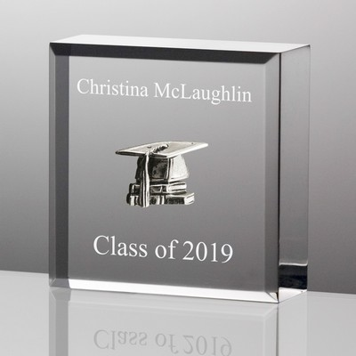 Tiny Treasures Silver Graduation Keepsake