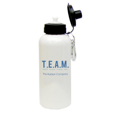 Together Everyone Achieves More Aluminum Water bottle