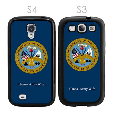 US Army Personalized Galaxy S3-S4 Case