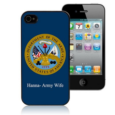 US Army Personalized iPhone Case
