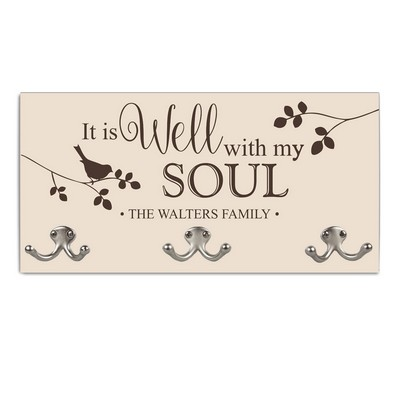 Well with My Soul Family Coat Hanger