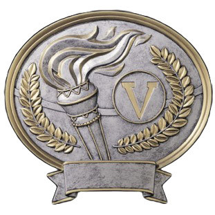 Victory Legend Oval Plaque